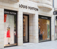 Louis Vuitton store Royalty Free Stock Photos