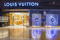 Louis Vuitton store Royalty Free Stock Photo