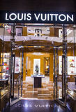 Louis Vuitton store Stock Images