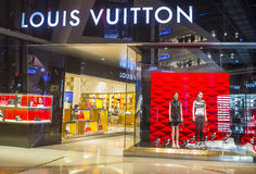 Louis Vuitton store Royalty Free Stock Photos