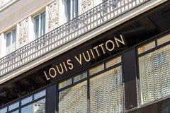 Louis Vuitton Store Royalty Free Stock Image
