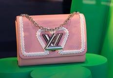 Louis Vuitton torebka, nowy inkasowy nadokienny pokaz Obraz Royalty Free