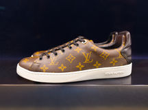 Louis Vuitton trainers in Suria KLCC, Kuala Lumpur Royalty Free Stock Images