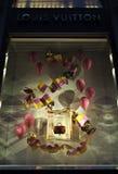 Louis Vuitton Window Stock Images