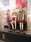 Louis Vuitton wystawia czempionów à ‰ lysées Paryskich zdjęcie royalty free