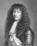 Louis XIV of France. (1638 -1715) on engraving from 1886. King of France from 1643 to 1715. Engraved by W.Greatbatch and published in London by Richard Bentley Royalty Free Stock Photo