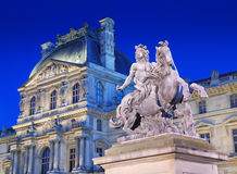 Louis XIV monument. Stock Photos