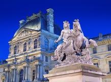 Louis XIV monument. Stock Photos