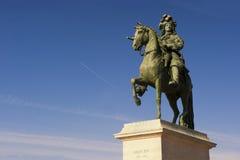 Louis XIV sculpture Stock Images