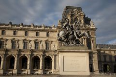 Louis XIV Statue, France Royalty Free Stock Photos