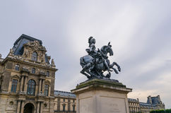 Louis XIV statue Royalty Free Stock Image