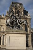 Louis XIV Statue, Paris Stock Photography