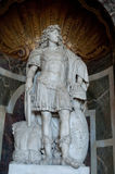 Louis XIV Statue in Versailles Stock Photo