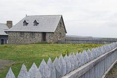 Louisbourg加拿大全国古迹 免版税图库摄影