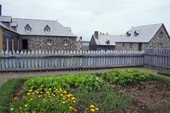 Louisbourg加拿大全国古迹 免版税库存图片
