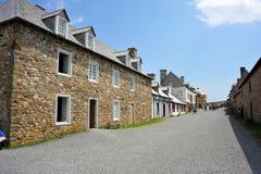 Louisbourg堡垒  图库摄影