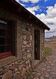 Louisbourg. Fortress de Louisbourg in Cape Breton, Nova Scotia royalty free stock photo
