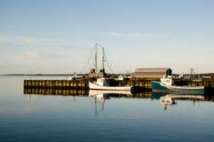 Louisbourg Harbor - Nova Scotia - Canada Royalty Free Stock Image
