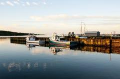 Louisbourg Harbor - Nova Scotia - Canada Royalty Free Stock Photo