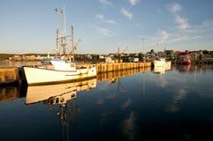 Louisbourg Harbor - Nova Scotia - Canada Stock Photos