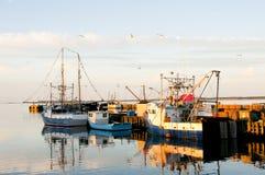 Louisbourg Harbor - Nova Scotia - Canada Stock Photography