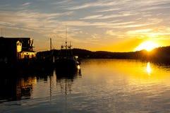 Louisbourg Harbor - Nova Scotia - Canada Royalty Free Stock Images