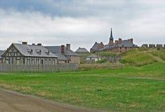 Louisbourg velho imagens de stock royalty free