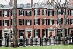 Louisburg广场信标岗波士顿 免版税库存照片