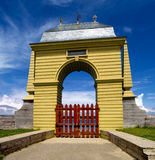 Louisburg Gate Royalty Free Stock Photography