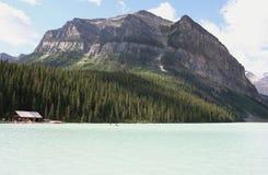 Louise, canada jeziora Fotografia Royalty Free