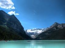 Louise, canada jeziora zdjęcia royalty free