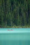 Louise, canada jeziora zdjęcia stock