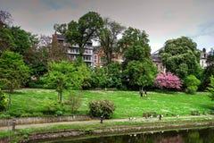 Louise Marie Park, Namur, Belgium Stock Photography