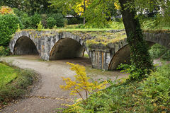 Louise Marie Park in Namur. Wallonia. Belgium Stock Image
