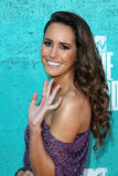 Louise Roe arriving at the 2012 MTV Movie Awards Royalty Free Stock Images