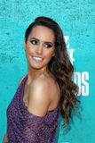 Louise Roe arriving at the 2012 MTV Movie Awards Royalty Free Stock Photos