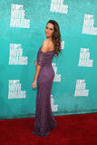 Louise Roe arriving at the 2012 MTV Movie Awards Stock Photos