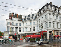 Louise square in Brussels Stock Photography