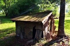 Louisiana Abandoned Home 08 Dog house royalty free stock image