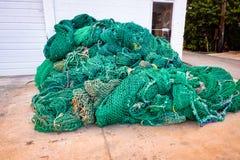 Louisiana Bayou Nets stock photography