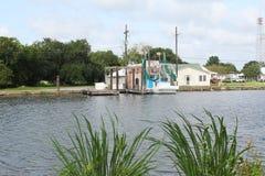 Louisiana-Bayou-Szene stockbild