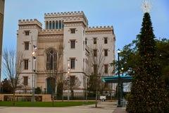 Louisiana gammal statlig Kapitolium Baton Rouge USA Royaltyfri Foto