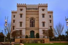 Louisiana gammal statlig Kapitolium Baton Rouge USA Royaltyfria Foton