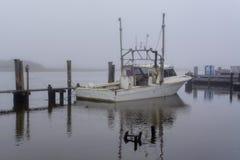 Louisiana-Garnelen-Boot lizenzfreie stockfotografie