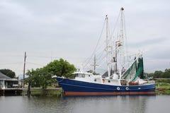 Louisiana-Garnelen-Boot lizenzfreies stockbild