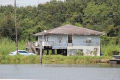 Louisiana-Haus lizenzfreies stockbild