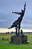 Louisiana Memorial Monument, Gettysburg, PA Stock Photo