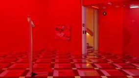 Louisiana-Museum von modernem Art Denmark stock video
