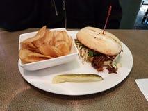Louisiana puxou a carne de porco & os amarantos Fotografia de Stock Royalty Free