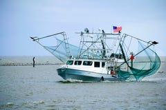 Louisiana räkafartyg Arkivbild